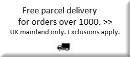 Free Parcel Delivery UK Mainland on orders over £750.00