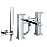 Bloque Bath Shower Mixer with Kit