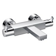Str8 Wall Mounted Bath Shower Mixer with Kit
