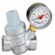 15mm or 22mm Pressure Reducing Valve with Gauge