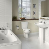 Sandringham Bathroom Pack With 2 Tap Hole Basin