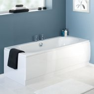 Otley Double Ended Round Bath 1700 x 750mm