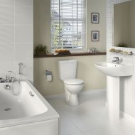 Sandringham Bathroom Pack With 1 Tap Hole Basin