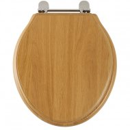 Roper Rhodes Greenwich Toilet Seat Oak 8099NO