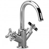 Roper Rhodes Wessex Swan Spout Basin Mixer with Click Waste T661002