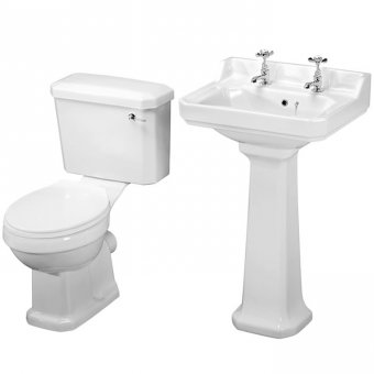 Premier Carlton Basin & WC 4 Piece Package