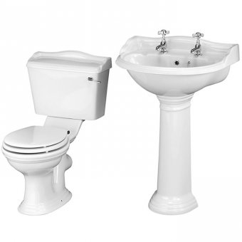 Ryther Basin & WC 4 Piece Package
