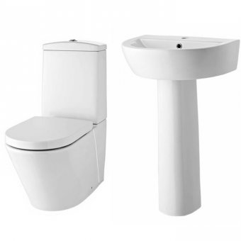 Solace Basin & WC 4 Piece Package