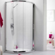 Premier Pacific Single Entry Quadrant Shower Enclosure