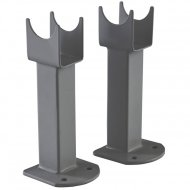 Premier Small Radiator Floor Mounting Feet Anthracite