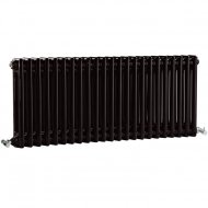 Premier Regency 400 x 1055mm 2 Column Radiator High Gloss Black