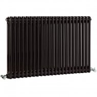 Premier Regency 600 x 1055mm 2 Column Radiator High Gloss Black