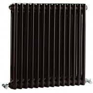 Premier Regency 600 x 650mm 2 Column Radiator High Gloss Black
