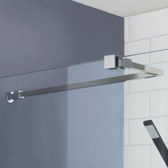 Universal Wetroom Screen Stabilising Bar