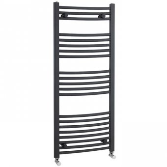 Premier Anthracite Curved Ladder Rail 1150 x 500mm