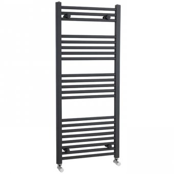 Anthracite Straight Ladder Rail 1150 x 500mm