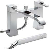 Isis Bath Shower Mixer with Shower Kit and Wall Bracket