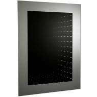 Lucio Infinity LED Mirror with Motion Sensor Technology