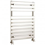 Piazza Heated Towel Rail 520mm by 745mm