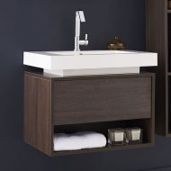 Recess Basin and Cabinet