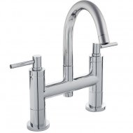 TEC Lever Bath Filler with Small Swivel Spout