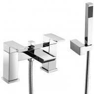 Value Bath Shower Mixer with Shower Kit and Wall Bracket Model 01