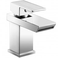 Value Mono Basin Mixer with Push Waste Model 01