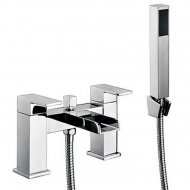 Value Bath Shower Mixer with Shower Kit and Wall Bracket Model 02