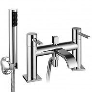 Value Bath Shower Mixer with Shower Kit and Wall Bracket Model 03