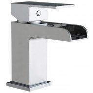 Value Mono Basin Mixer with Push Waste Model 02