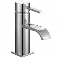 Value Mono Basin Mixer with Push Waste Model 03