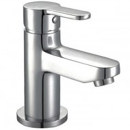 Value Mono Basin Mixer with Push Waste Model 04