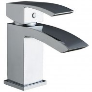 Value Mono Basin Mixer with Push Waste Model 06