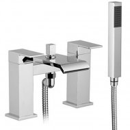 Value Bath Shower Mixer with Shower Kit and Wall Bracket Model 08