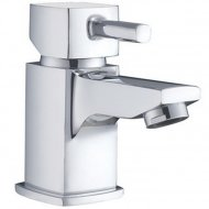 Value Mini Mono Basin Mixer with Push Waste Model 09