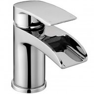Value Mono Basin Mixer with Push Waste Model 07