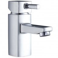Value Mono Basin Mixer with Push Waste Model 09