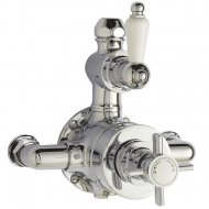 Beaumont Twin Exposed Thermostatic Shower Valve