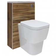 Hudson Reed Memoir Gloss Walnut Back-to-Wall WC Unit – FME013