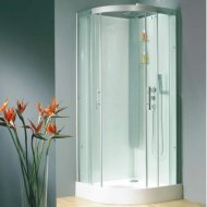 Kinedo Horizon 900mm by 900mm Quadrant Shower Cubicle with Sliding Doors CA118A12