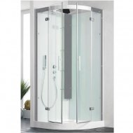 Kinedo Horizon 900mm by 900mm Quadrant Shower Cubicle with Pivot Doors CA138A12