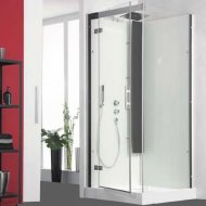 Kinedo Horizon 800mm by 800mm Corner Shower Cubicle with Pivot Door CA136A12