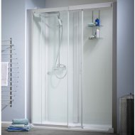 Kinedo Kinemagic Design 1200mm by 700mm Recess Shower Cubicle with Door K5-1207-NHC-TN3-XDO