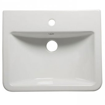 Tavistock Q60 Ceramic Semi-countertop Basin standard depth SCSB930S