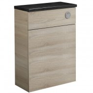 Tavistock Courier 600mm Back To Wall WC Unit in Oregon Oak – CR6BTWOR