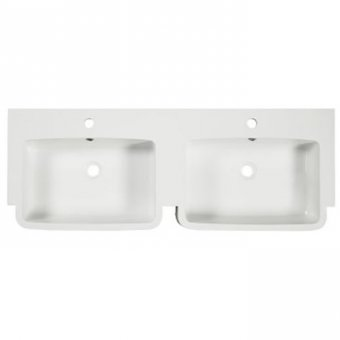 Tavistock Courier 1200mm Isocast Double Basin – CR1200D