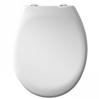 Tavistock Alpine Toilet Seat in White – O803SC
