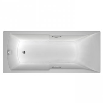 Carron Axis 1600 x 700 5mm Acrylic Bath with Twin Grips – 23.4551 (Q4-02033 + Q4-02356)
