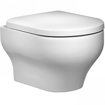 Roper Rhodes Note Wall Hung WC Pan with Soft Close Toilet Seat NWHPAN 8704WSC