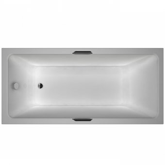 Carron Quantum Single Ended Integra 1800 x 800 Carronite Bath with Twin Grips – 23.2029 (Q4-02397)
